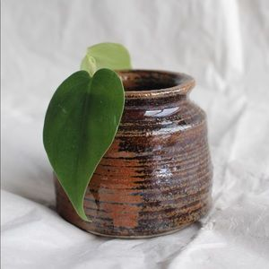 Handmade Unique Pottery Piece Bud Vase